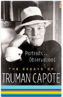 US first edition Portraits and Observations: The Essays of Truman Capote - Truman Capote