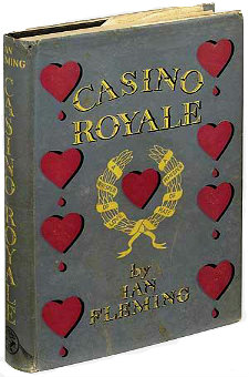 True first edition, first printing of Casino Royale by Ian Fleming, 1953