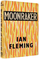UK 1955 First Edition Moonraker - Ian Fleming
