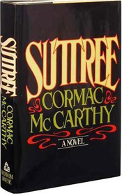 US first edition, first printing Suttree - Cormac McCarthy