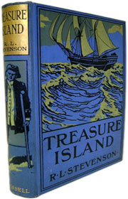 UK 1911 Reprint Treasure Island - Robert Louis Stevenson