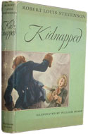 US 1949 Hardcover Kidnapped - Robert Louis Stevenson