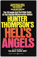 US paperback Hell's Angels: A Strange and Terrible Saga - Hunter S. Thompson