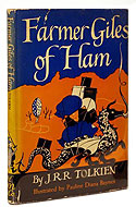 US first edition Farmer Giles of Ham - J.R.R. Tolkien