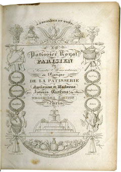 Le Patissier Royal Parisien by Antonin Car�me