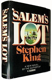 The Holy Grail for Stephen King collectors - a true first edition of Salem's Lot, complete with original dustjacket