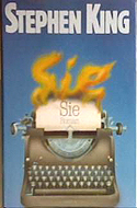 Sie - the German edition of Misery by Stephen King