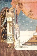 East of the Sun and West of the Moon. Old Tales from the North illustrated by Kay Nielsen