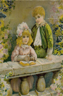 Our Darlings: The Children's Treasury of Pictures and Stories edited by Dr. Barnardo