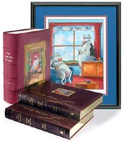 The Complete Far Side Leather-Bound Set (Signed Limited Edition) by Gary Larson