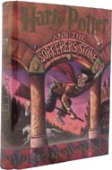 Harry Potter and the Sorcerer's Stone, first in the Harry Potter series by J.K. Rowling