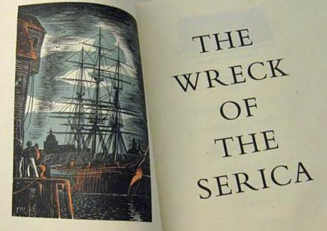 The Wreck of the Serica: A Narrative of 1868 by Thomas Cubbin
