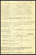 Einstein's notes on Unified Field Theory