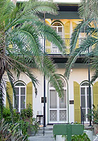 Part of the front of Hemingway Home