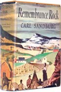 Remembrance Rock by Carl Sandburg