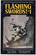 Flashing Swords #1 by Lin Carter
