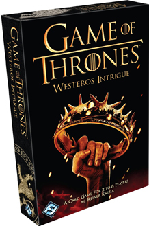 A Game of Thrones: Westeros Intrigue (Card Game)