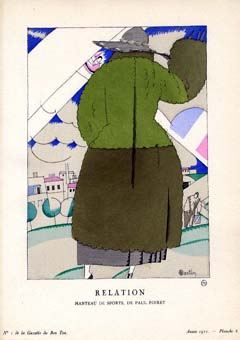 Relation: Manteau De Sports, De Paul Poiret