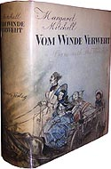Vom Winde Verweht - German language edition of Gone with the Wind by Margaret Mitchell