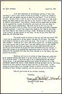 Typed Letter Signed by Margaret Mitchell