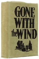 1937 Later Printing of First Edition of Gone with the Wind by Margaret Mitchell
