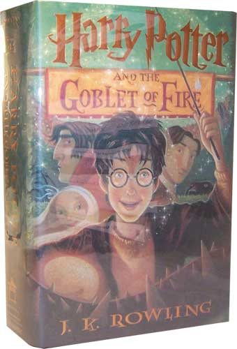 Book 4 Harry Potter