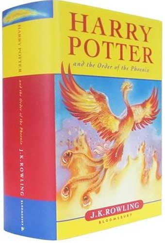 Book 5 Harry Potter