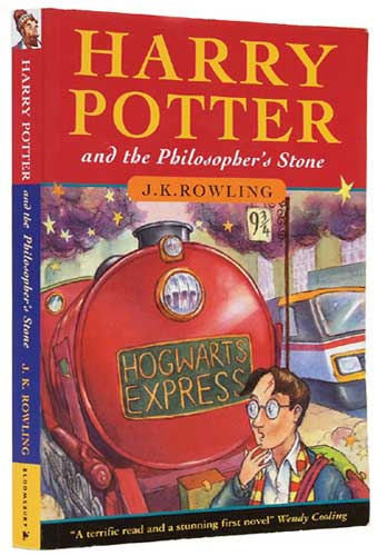first edition of harry potter and the sorcerers stone