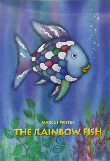 Abebooks 12 books you 39 ll remember if you were a child in for The rainbow fish
