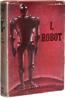 I, Robot Gnome Press, 1950 first edition, first printing