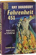 Ray Bradbury, author of Fahrenheit 451