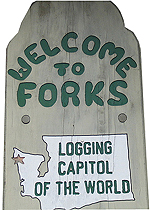 Forks, WA: Logging capitol (sic) of the world