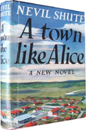 an analysis of the novel a town like alice by nevil shute Publisher's summary jean paget is  a town like alice is truly an epic story,  eloquently narrated by robin bailey nevil shute is a master author who  immerses his readers and listeners into the landscapes and lives of his  characters overall.