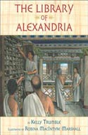 The Library of Alexandria by Kelly Trumble