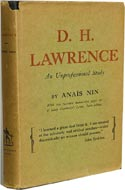 D. H. Lawrence: An Unprofessional Study by Anaïs Nin
