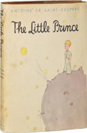 The Little Prince by Antoine de Saint Exupery - $14,450
