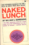 First Paperback Edition of Naked Lunch by William S. Burroughs - 1966, Grove Press