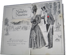 Naughty Nineties: A Saucy Pop-up Book for Adults Only by Peter Seymour