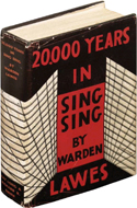 20,000 Years in Sing Sing by Lewis E. Lawes