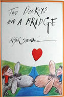 Two Donkeys and a Bridge by Ralph Steadman