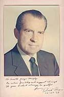 Signed Photograph of Richard Nixon