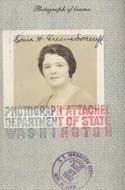 Sonia Haft Greene Lovecraft's Passport