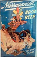 Original Poster for: Narragansett Bock Beer by Dr. Seuss