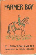 early edition of Farmer Boy by Laura Ingalls Wilder
