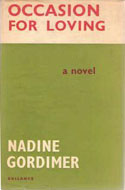 Occasion for Loving by Nadine Gordimer