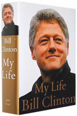 Autographed copy of My Life by Bill Clinton
