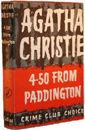 4.50 From Paddington by Agatha Christie