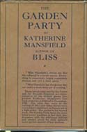 The Garden Party and Other Stories by Katherine Mansfield, 1922