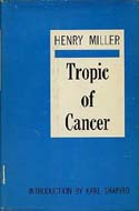 Tropic of Cancer by Henry Miller, 1961