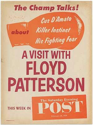 A Visit with Floyd Patterson. This Week in The Saturday Evening Post February 28, 1959
